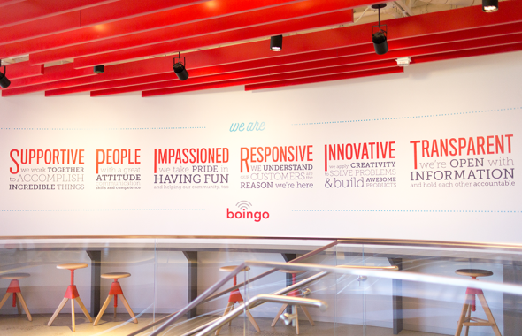 Boingo Los Angeles tech company